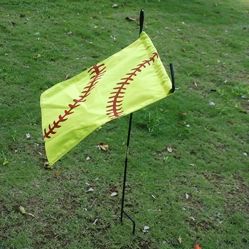 Top Quality Sports Baseball Cotton Canvas Garden Flag