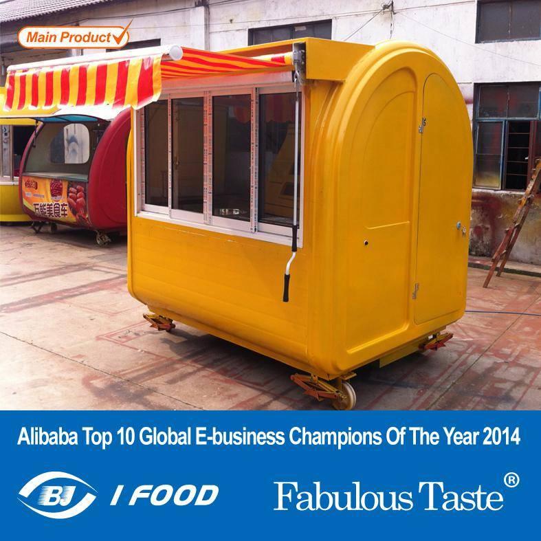 Mobile Sausage Food Cart for Sale