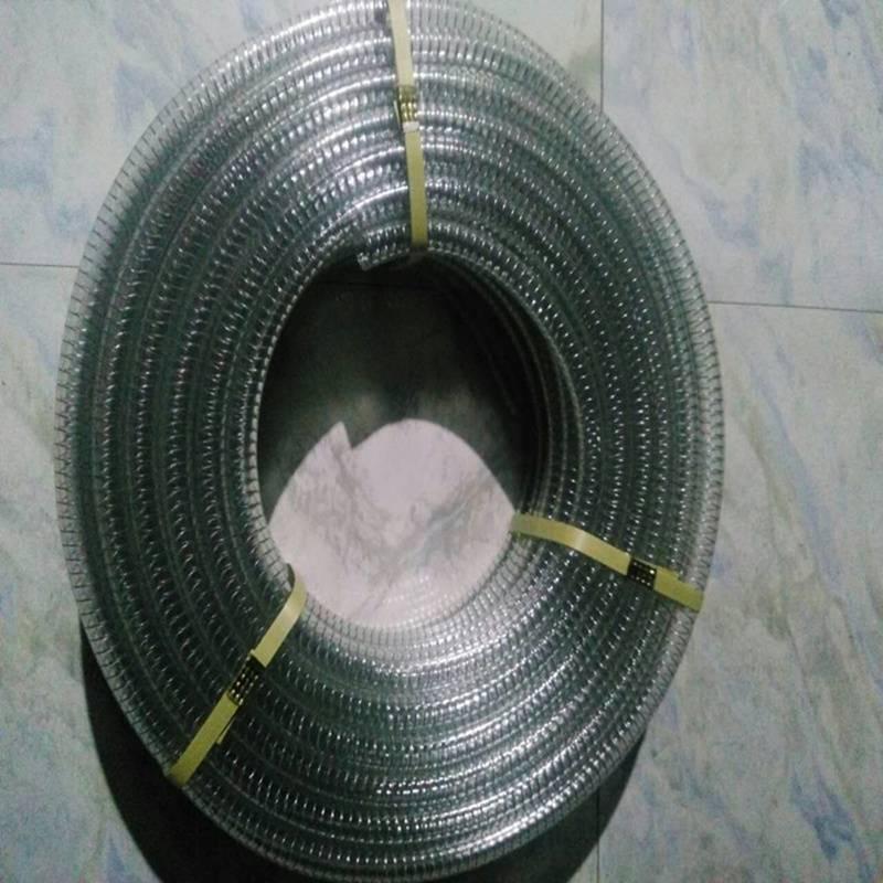 PVC Steel Wire Plastic Reinforced Hose