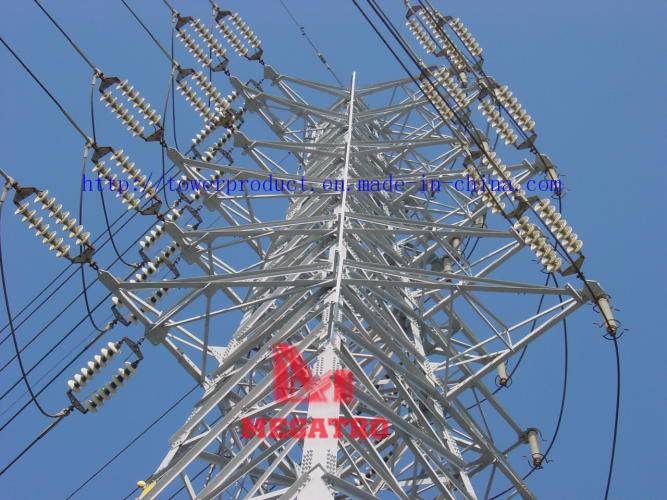 Angle Lattice Towers for Transmission Power