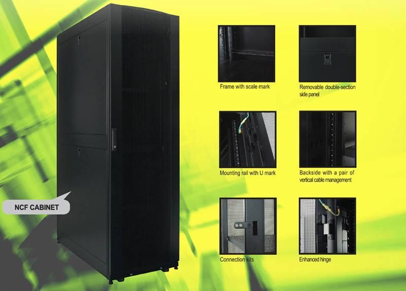 19'' NCF server cabinet 42U