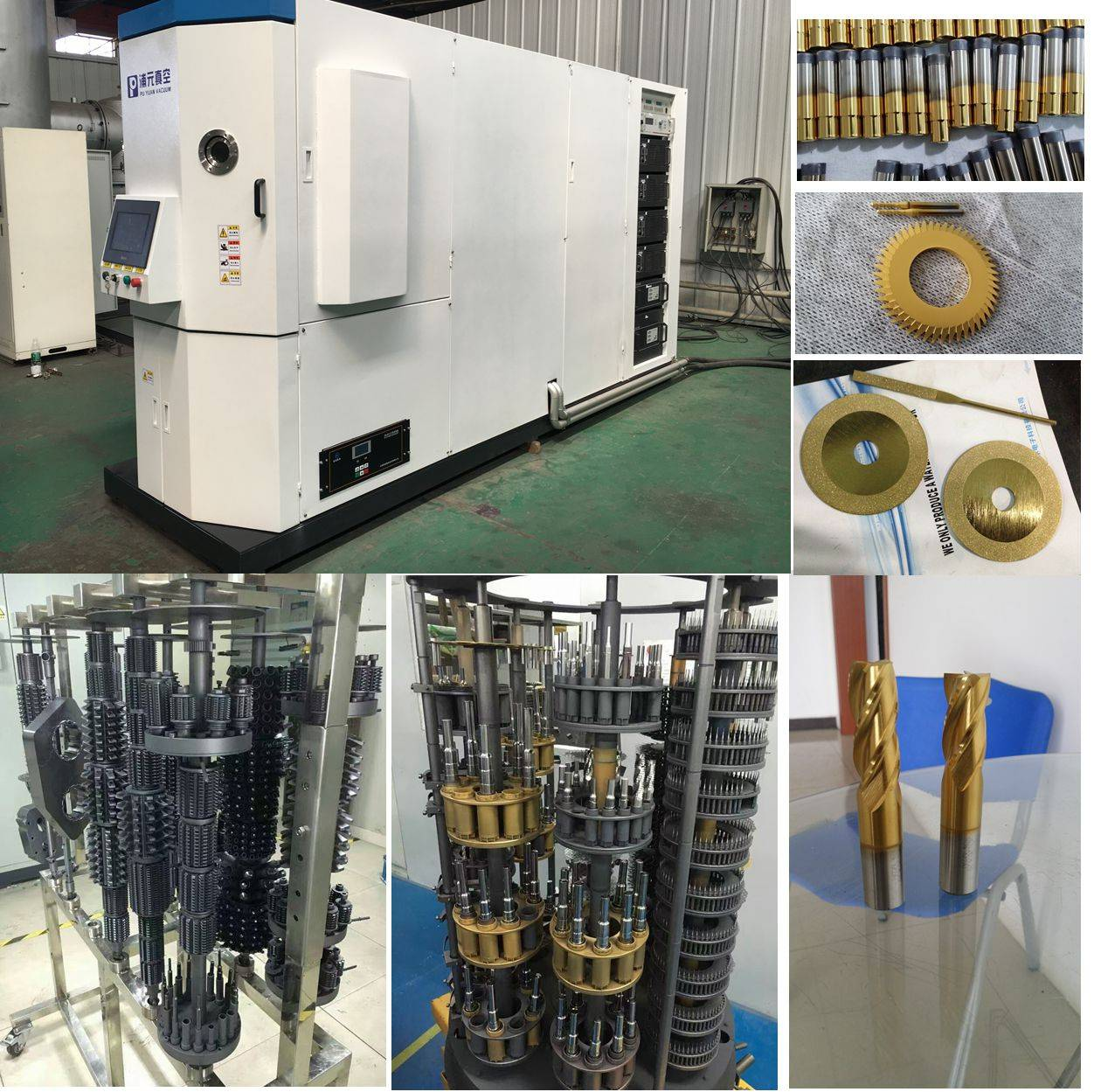 tools industry pvd coating equipment