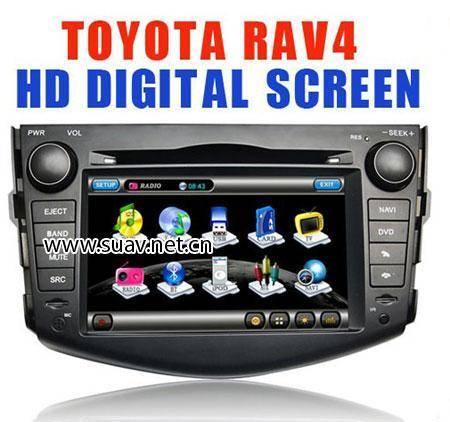 """Toyota RAV4 06-09 Car DVD GPS Navi player in dash 7""""HD touch PIP RDS IPOD"""