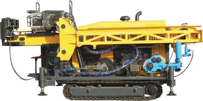 Crawler Mounted Complete hydraulic core drilling rig 2000m YF-HH-6