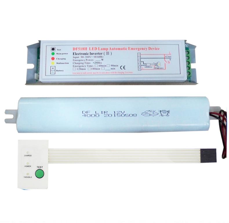 Led full emergency inverter power pack supply, suitable for lamp tube use 36W 1 hour