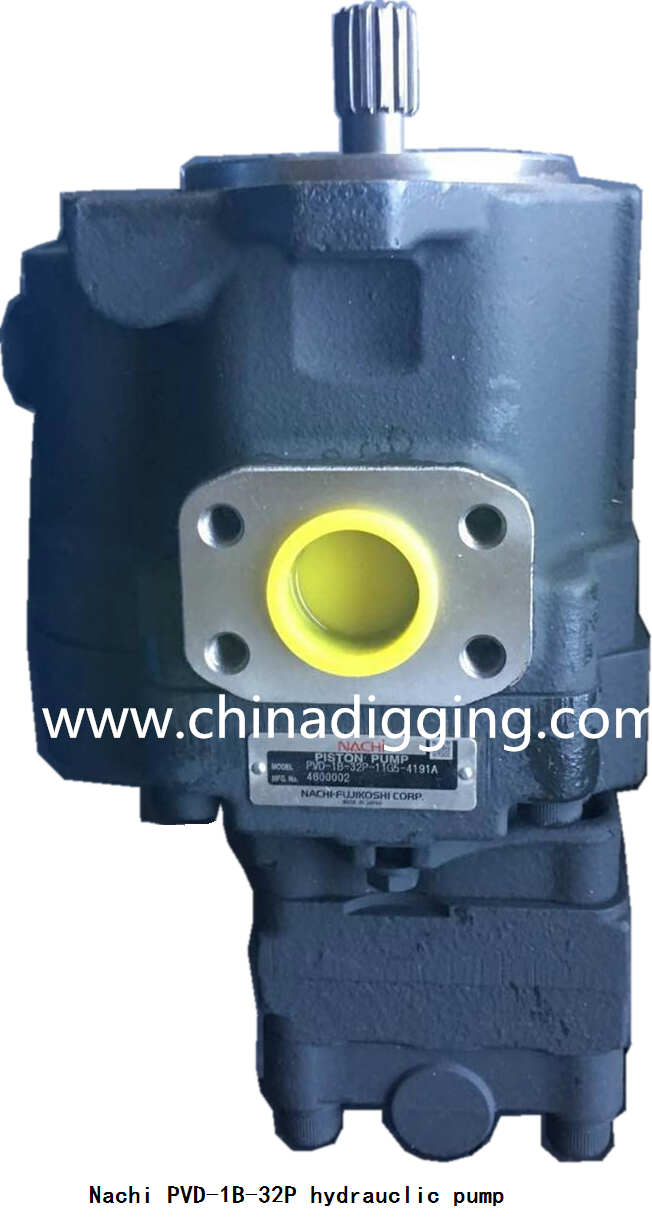 Nachi PVD-1B-32 excavator hydraulic pump main pump assy