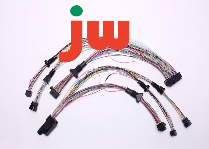 auto wiring harness with delphi connectors for cars