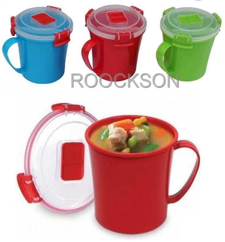Double Plastic Crisper Food Container Plastic Storage Box