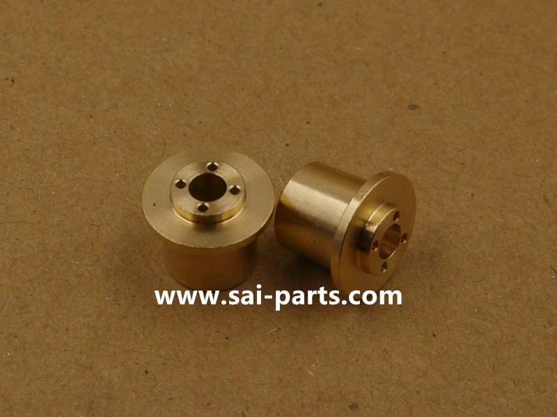 Precision Brass Valve Seat CNC Turned Mechanical Parts