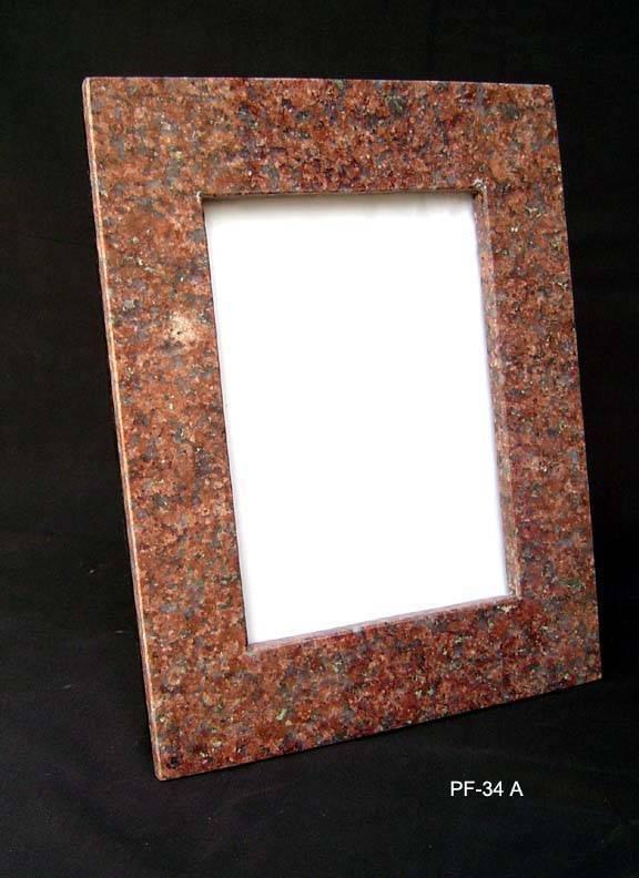 stone photo frame