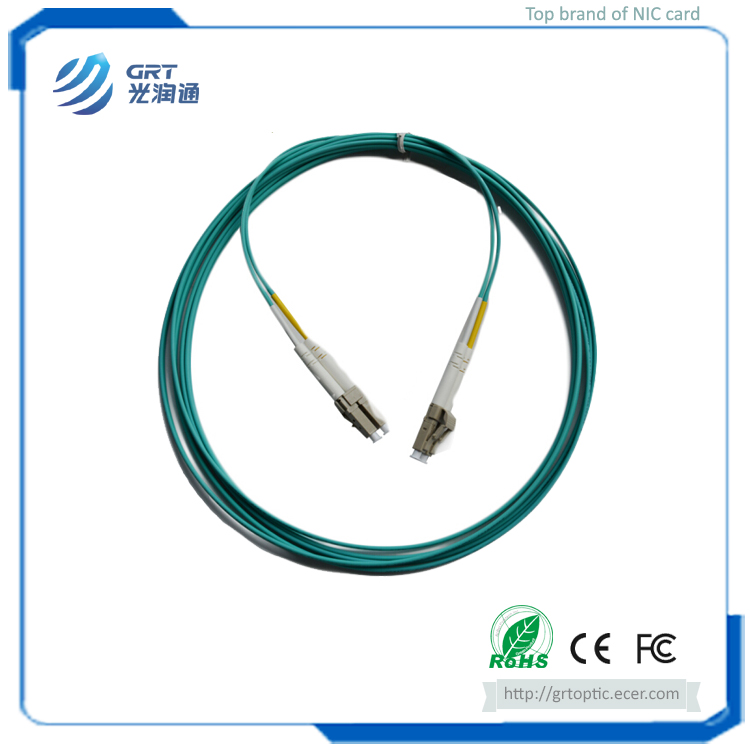 Good repetibility 3m duplex LC-LC connector 10Gb MM multimode fiber optic Patch Cable