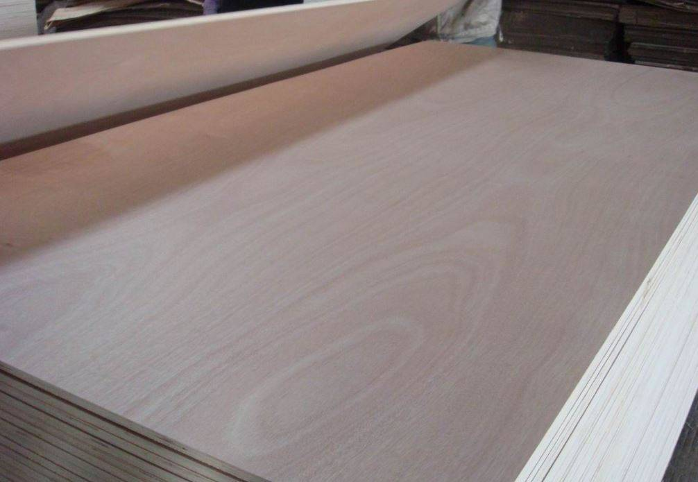 Chinese commercial plywood with poplar core double sides melamine faced for furniture and cabinet