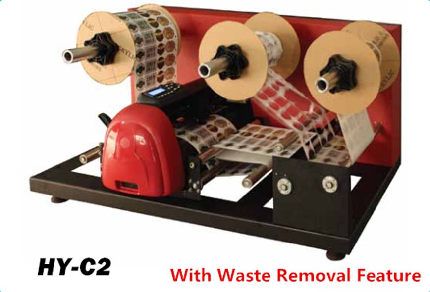 Special Shape Label Cutter with Waste Removal Feature (HY-C2)