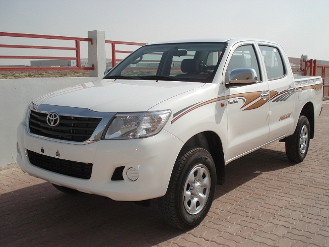TOYOTA HILUX 4WD DIESEL MANUAL PS 2012