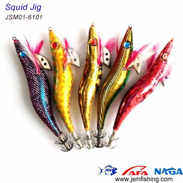 china factory making squid jig for fishing