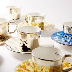 Luycho Mirror Cup & Saucer - Sika Deer