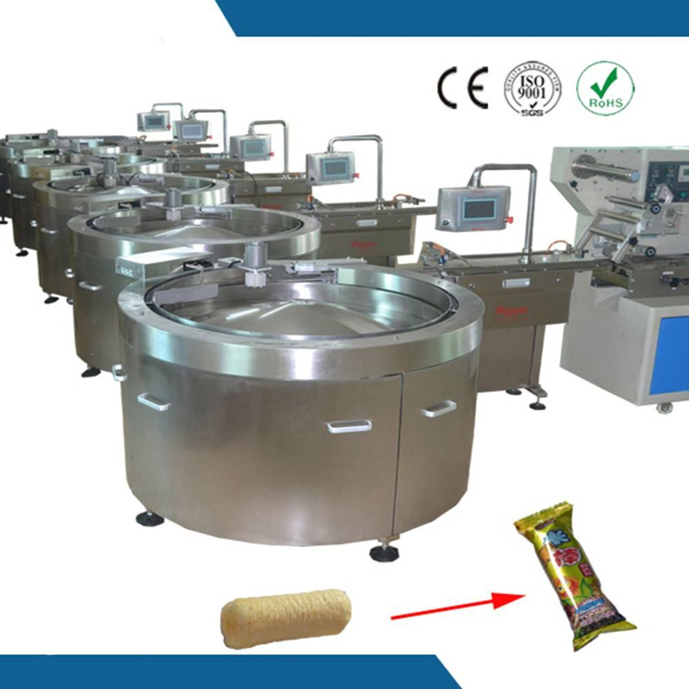 .See larger image high speed round shape biscuit sandwiching and wrapping line
