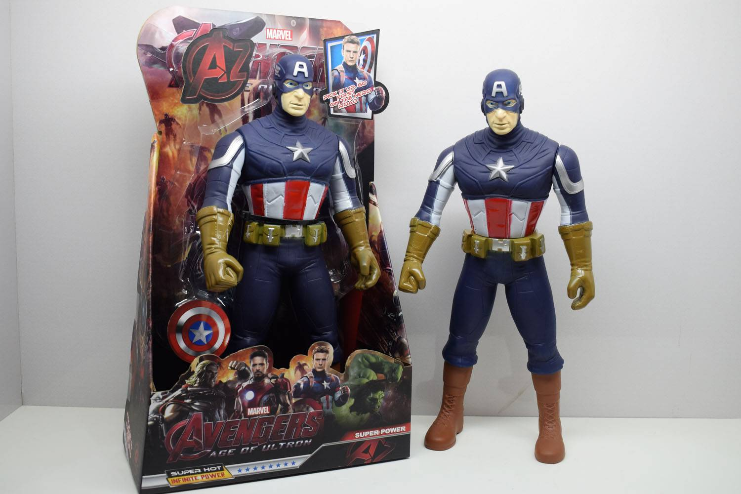 Marvel  Action Figure Captain America 3313B