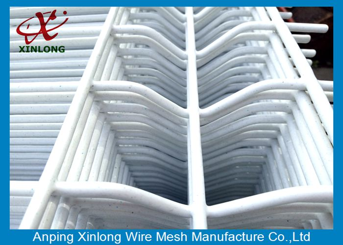 High Strong Quality 20055mm Portable Pure White 3D Wire Mesh Fence