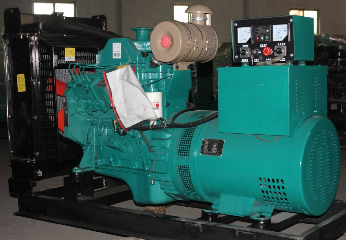 CE ISO approved 30kw generator with cummins engine 4BT3.9-G2 30KW diesel power generator