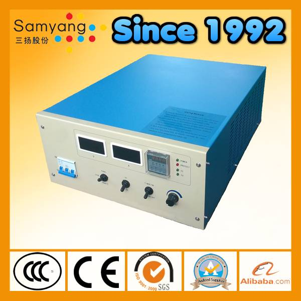Panel control air cooling dc electroplating rectifier
