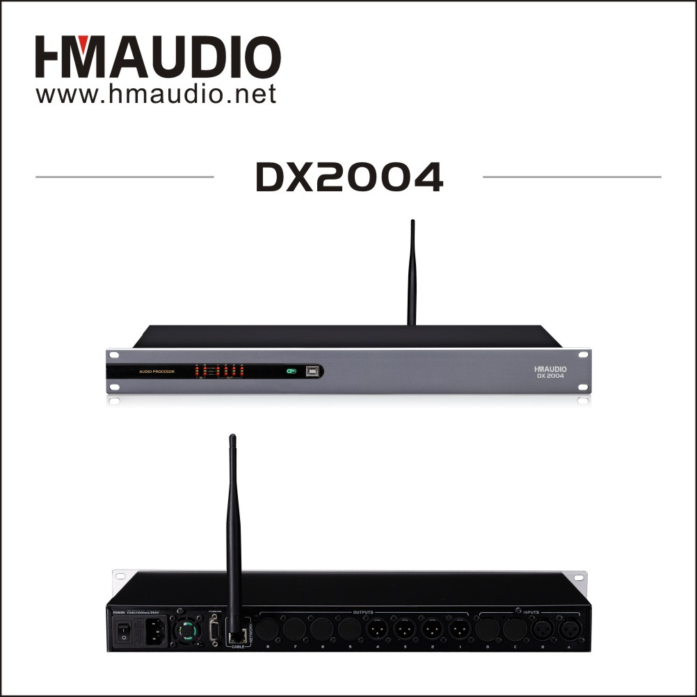Digital loud speaker management with Wifi Function 8 bands PEQ DX2004