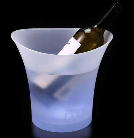 LED lighting ice bucket