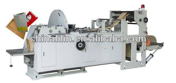 LMD-600 high speed fast food paper bag making machine