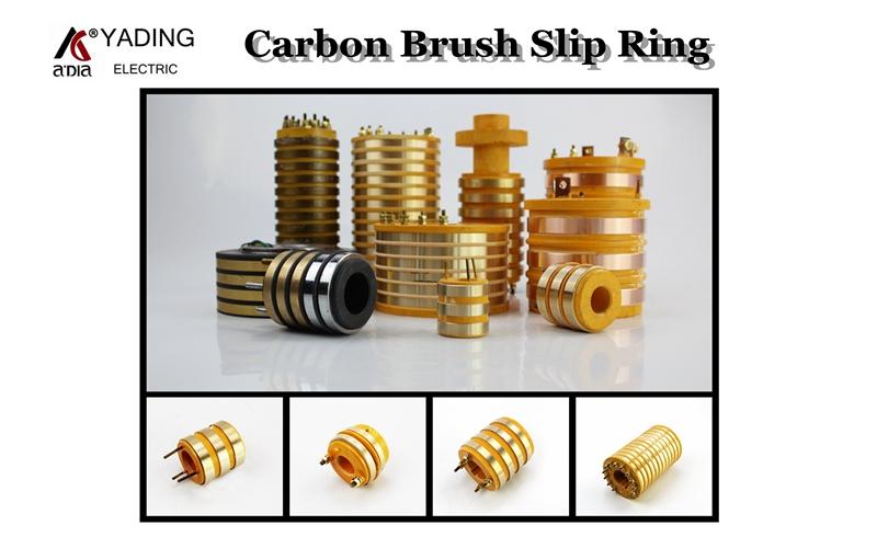 packing machine parts slip ring carbon brush slip ring