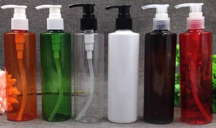 250ml PET lotion bottle with pump