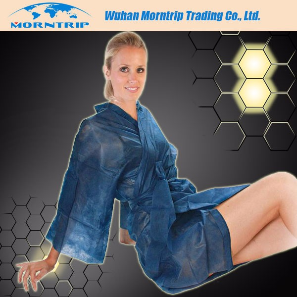 Disposable Nonwoven Sauna Gown