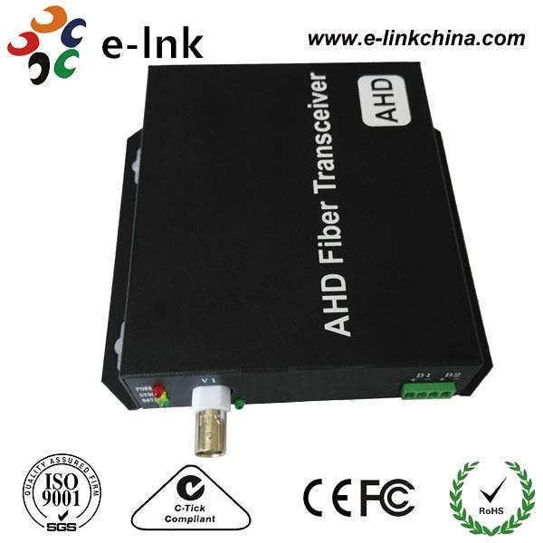 1/2/4/8/16-Ch AHD Video over Fiber Converter