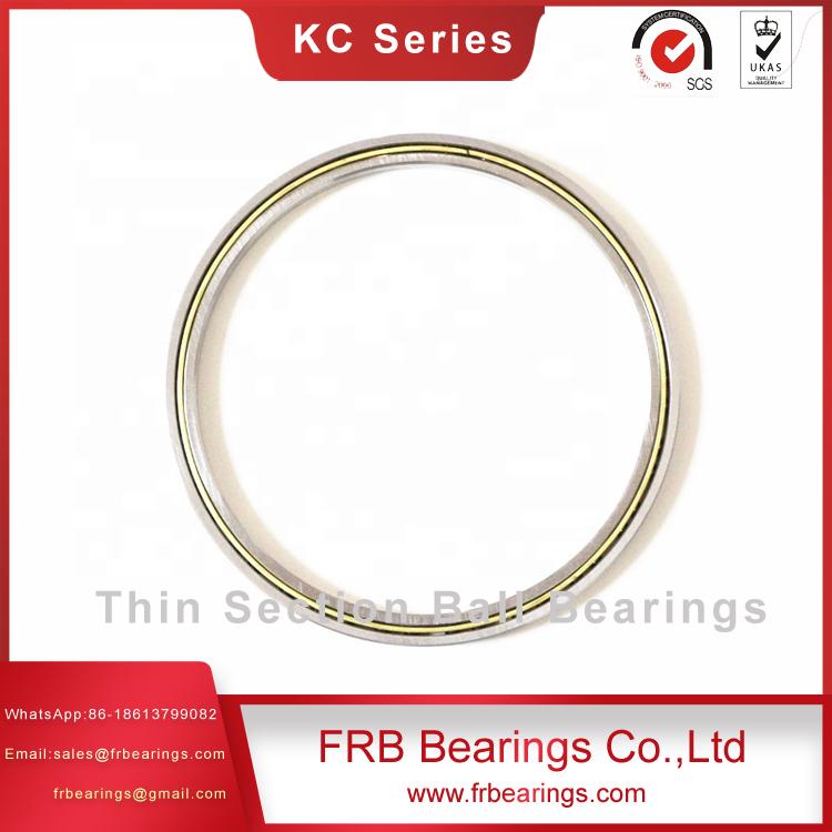 Thin section angular contact KC series bearing