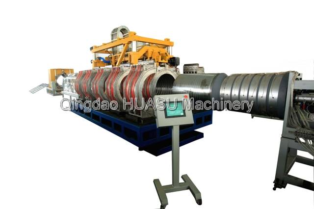 SBG1000 UPVC Double Wall Corrugated Pipe Production Line