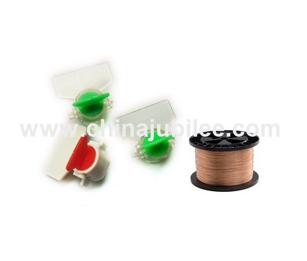 ME105 security seals meter seal electricty meter power box chemicals petroleum valves first aid boxe