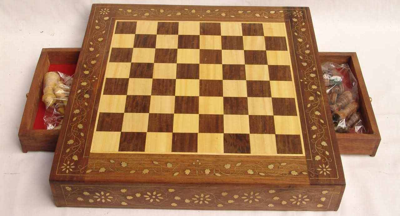 Wooden Chess Board