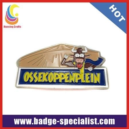 Soft enamel promotional pin