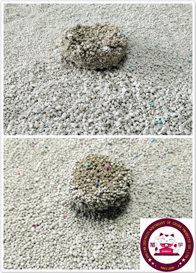 Sodium Bentonite clay cat litter