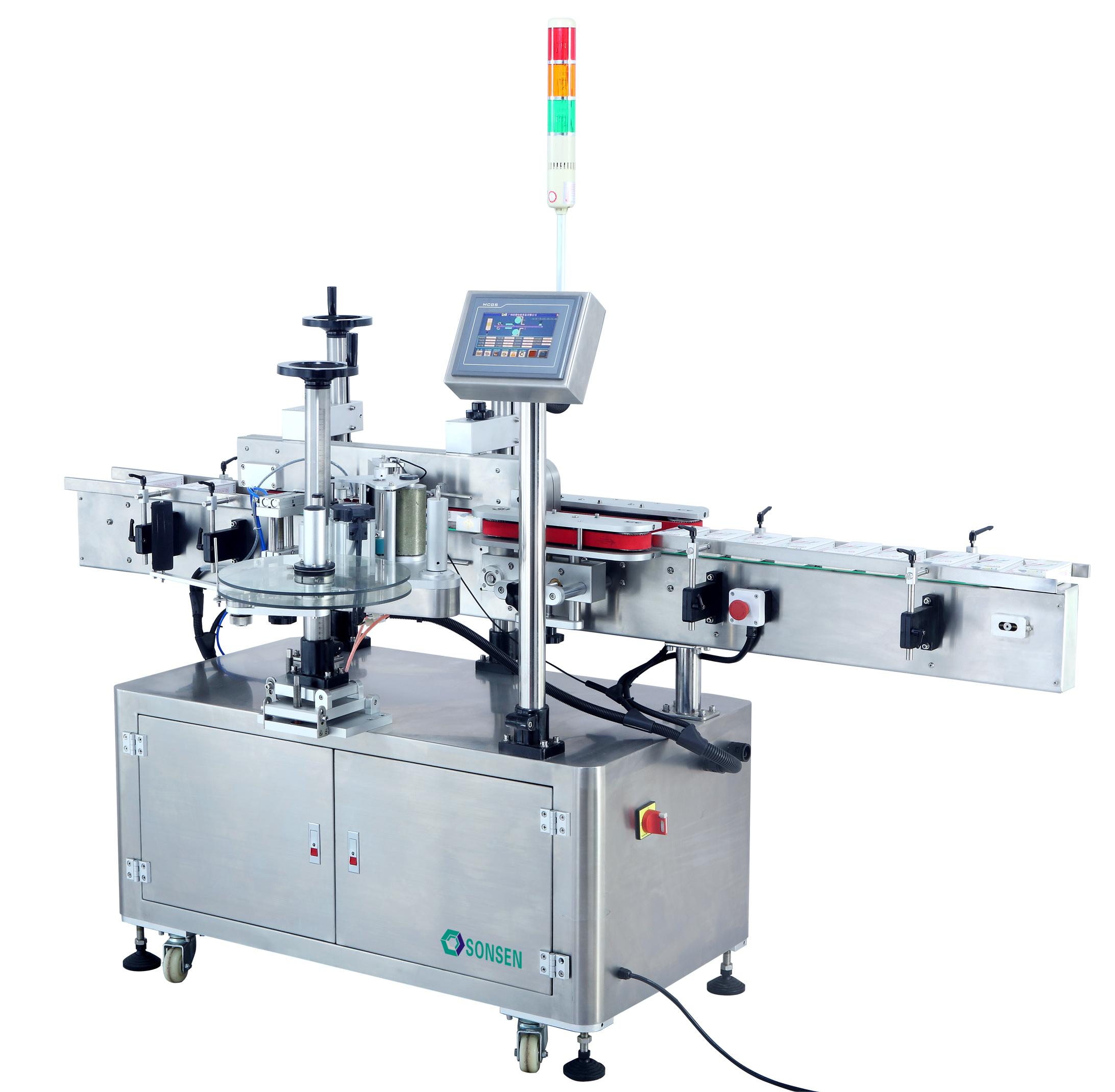 Single label- Single Surface Adhesive Labeling Machine
