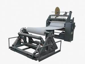 Plaster of paris bandage slitting and rolling machine (POP bandage machine)