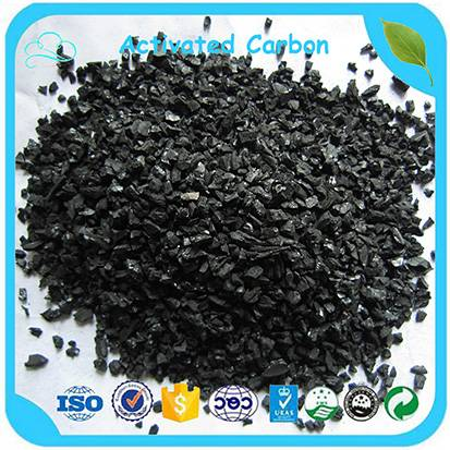 1-2mm Iodine Value 450-1000 Granular Activated Carbon For Water Plant Treatment