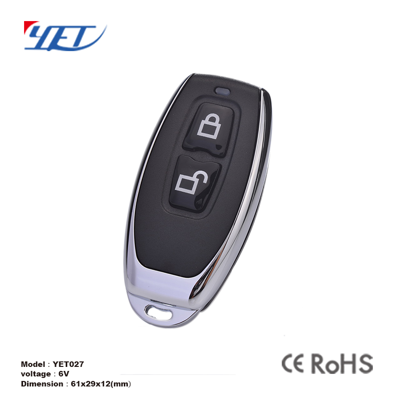 3 ch button universal motorcycle copy code remote control