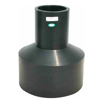Butt weld reducer pipe fitting