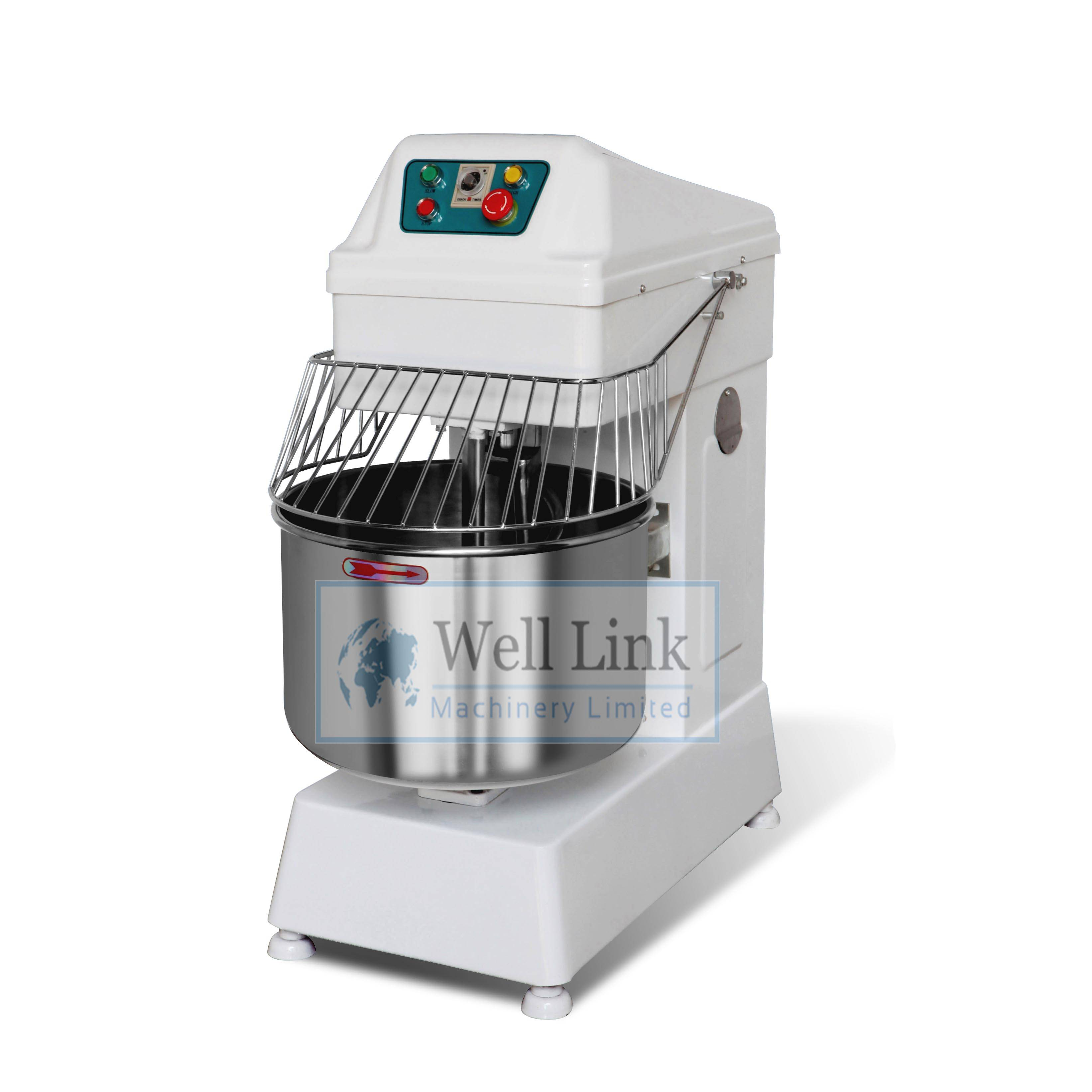 HS30 30 Liter Heavy Duty Stainless Steel Spiral Bread kneading Mixer