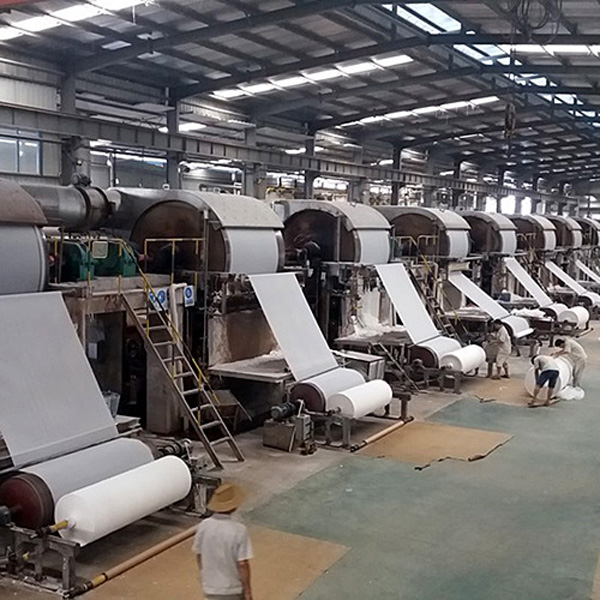 cost of small scale paper making equipment jumbo roll tissue toilet paper making machine