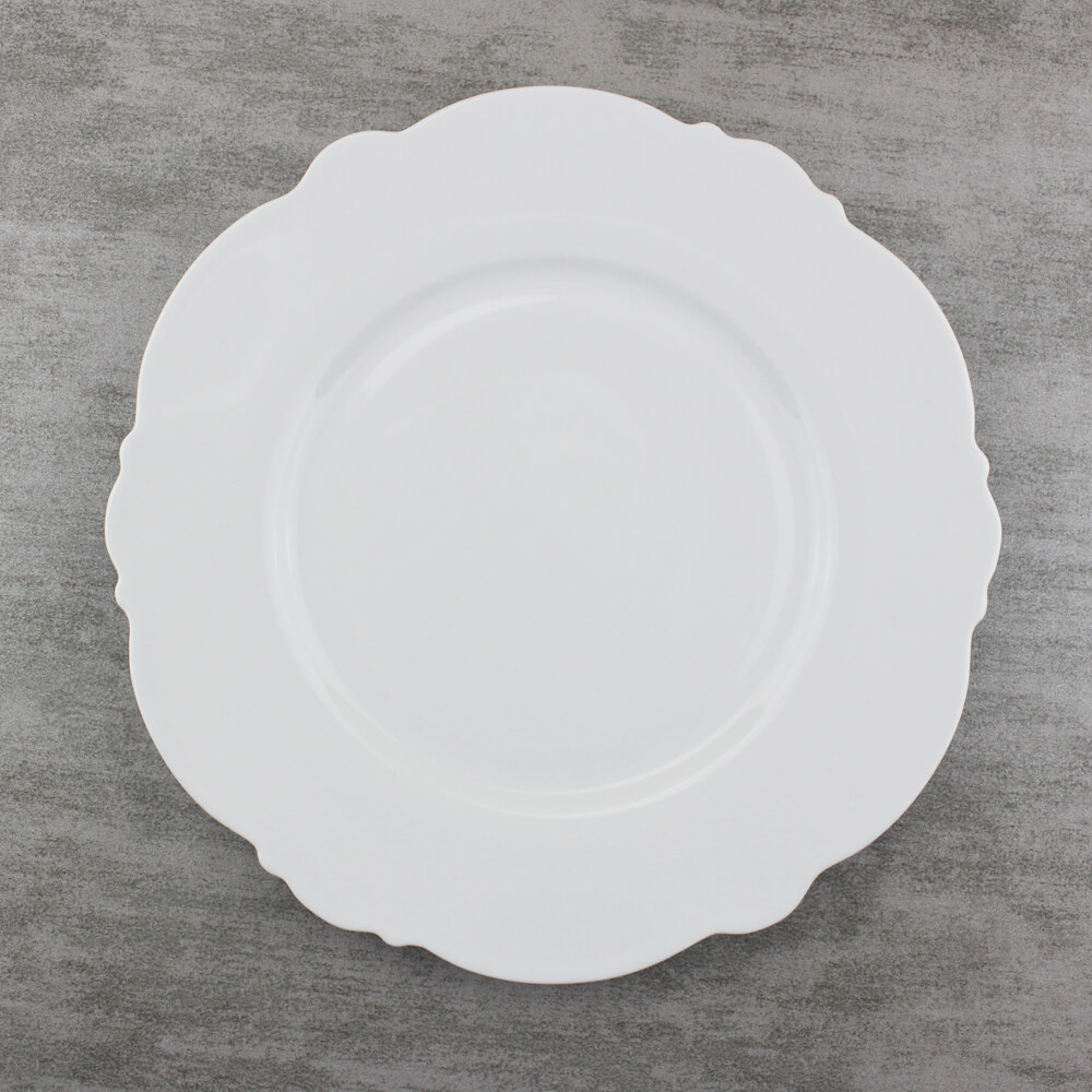 8.25 inch Butter Plate Scalloped