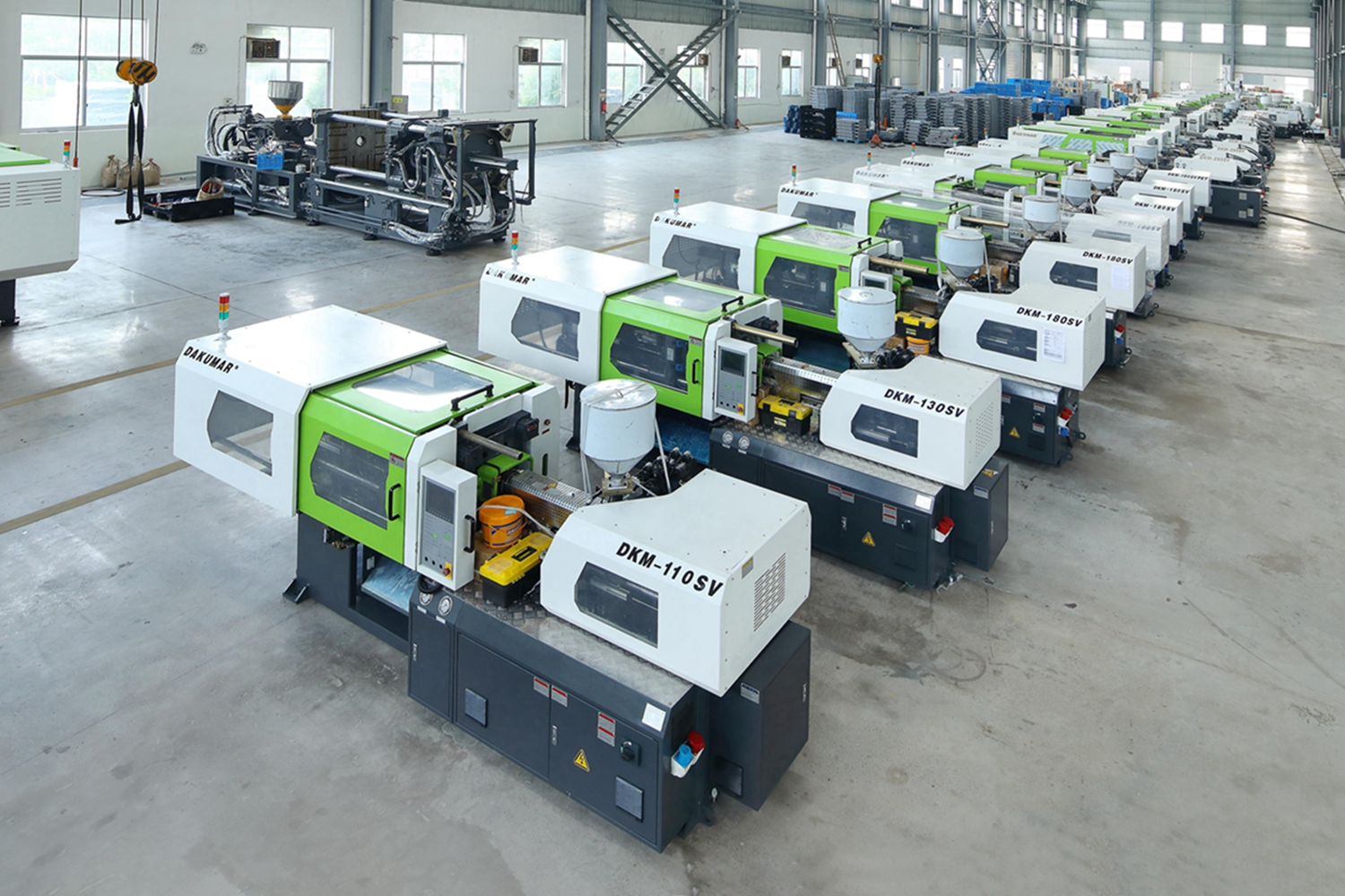 Small Injection Molding Machine With Servo System 110 Tons