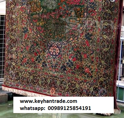 luxtury iranian 100% silk hand made carpet/rugs
