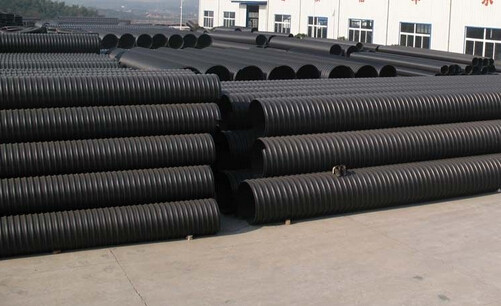Higher Flow Capacity High Density Polyethylene( HDPE )Pipes for Electrical and communications condui