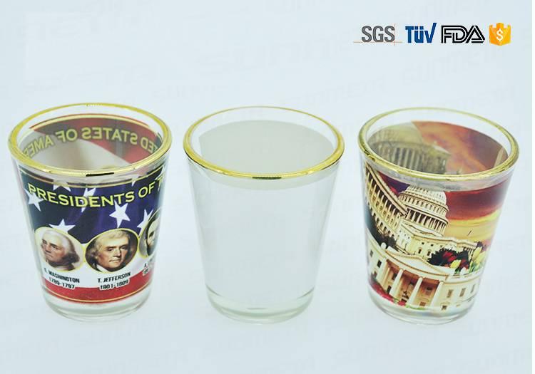 2oz Hot Sale Sublimation Shot Glass